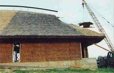 Straw house in Taraldziai